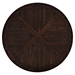 "Pacific Heights 32"" Round Cocktail Table - Chestnut - JOFR-1581-1"