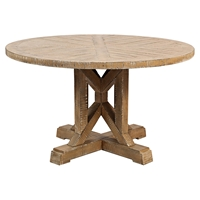 "Pacific Heights 32"" Round Cocktail Table - Bisque"