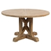 "Pacific Heights 32"" Round Cocktail Table - Bisque - JOFR-1591-1"