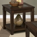 Lexington End Table - Shelf, Brown - JOFR-334-3