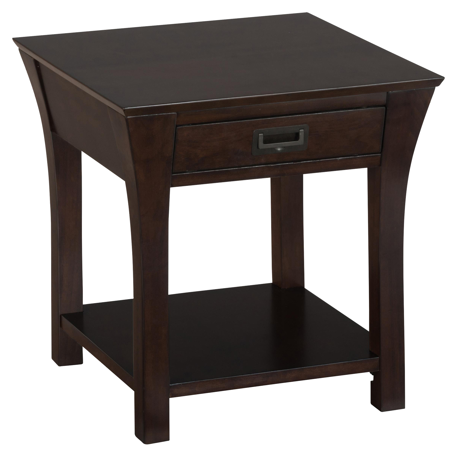 Artisan End Table - Square, 1 Drawer - JOFR-394-3