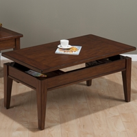 Dunbar Oak Cocktail Table - Rectangular, Lift Top