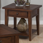 Clay County End Table - Oak