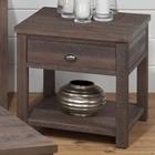 Falmouth End Table - Weathered Gray