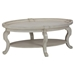 Sebastian Oval Cocktail Table - Creamy - JOFR-540-1
