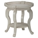 Sebastian Round End Table - Creamy - JOFR-540-3
