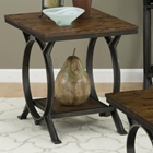 Harper's Press End Table