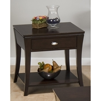 Manhattan End Table - Espresso