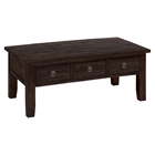 Kona Grove Rectangle Cocktail Table - Chocolate