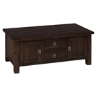 Kona Grove Rectangle Box Cocktail Table - Chocolate