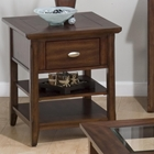 Bellingham End Table - Brown
