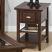 Bellingham Chairside Table - Brown - JOFR-709-7