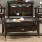 Montego Cocktail Table - Merlot
