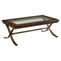 Ashland Rectangular Cocktail Table - Rich Chocolate