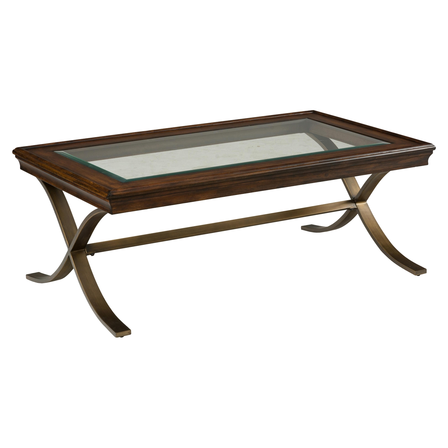 Ashland Rectangular Cocktail Table - Rich Chocolate - JOFR-834-1