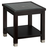Warren End Table - Oak