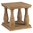 Big Sur End Table - Driftwood Brown