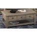 Slater Mill Rectangular Cocktail Table - Brown - JOFR-940-1