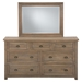 Slater Mill 7 Drawers Dresser - Brown - JOFR-943N-10