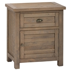Slater Mill Nightstand - Brown