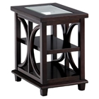 Panama Chairside Table - Cherry