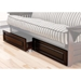 Kodiak Full Size Wood Futon Drawers - KDF-FTN-DRWR