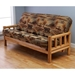 Lodge Complete Full Size Futon set, Premium Cover - KDF-LDG-FL-SET-PRM#