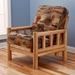 Lodge Chair Size Wood Futon Frame - KDF-LDG-CH-FRM