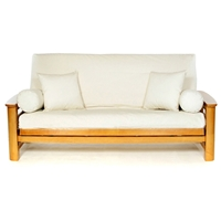 Natural Futon Cover - Full Size