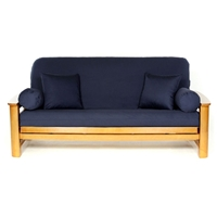 Navy Blue Futon Cover - Full Size