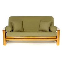 Olive Futon Cover - Full Size
