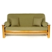 Olive Futon Cover - Full Size - LSC-A-OLIVE