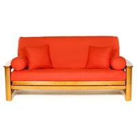 Orange Futon Cover - Full Size