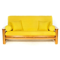 Yellow Futon Cover - Full Size