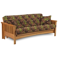 MT Baker Complete Oak Futon Set