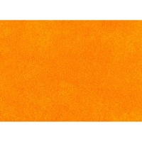 Luxury Orange Microfiber Futon Cover