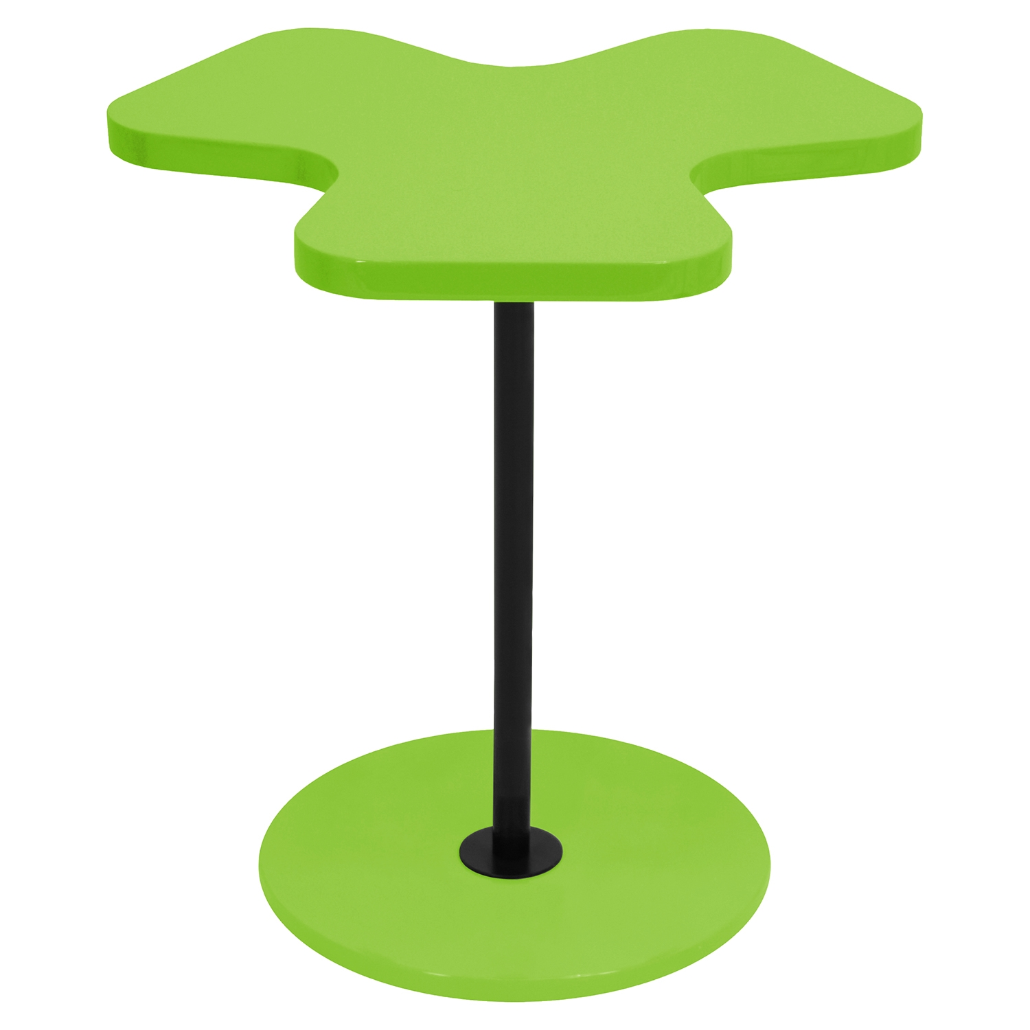 Clover End Table - Green