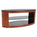 Duo Oval Coffee Table - Walnut, Black - LMS-TB-SW-CFDUOVL