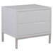 Naples Nightstand - 2 Drawers, White - MOES-ER-1199-18
