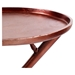 Conductor Side Table - Tray Top, Bronze - MOES-FI-1003-31