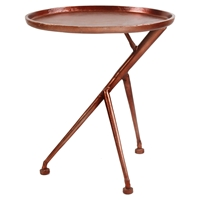 Conductor Side Table - Tray Top, Bronze