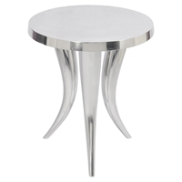 Hermie Side Table - Silver