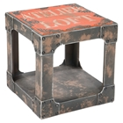 Loft Side Table - Orange
