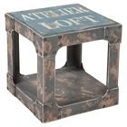 Loft Side Table - Blue