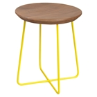 Rainbox Stool - Yellow Legs (Set of 2)