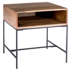 Colvin Side Table - Open Storage, Natural