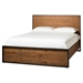 Brooklyn Platform Bed - Dark Brown, King - MOES-WN-1022-20