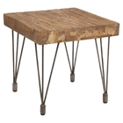 Boneta End Table - Natural