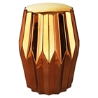 Column Stool - Gold