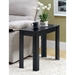 Adagio Contemporary Side Table - Black Oak Finish - MNRH-I-3110